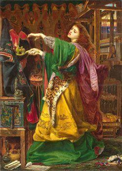 Morgana, la hermana del Rey Arturo