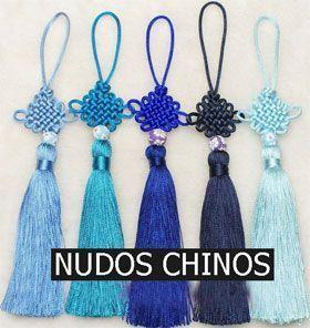 Nudo chino. Tipos y significado