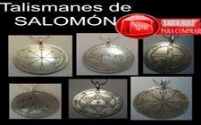 talismanes y pantáculos de SALOMÓN, sellos clavículas consagrados a los diferentes planetas