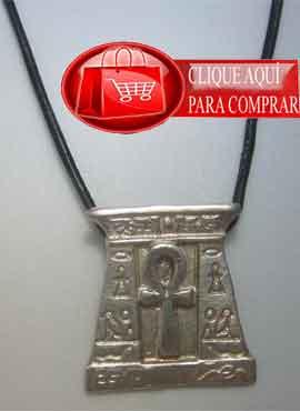 Anj cruz ansada llave de la vida, plata