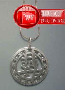 felicidad doble xing fu amuleto chino