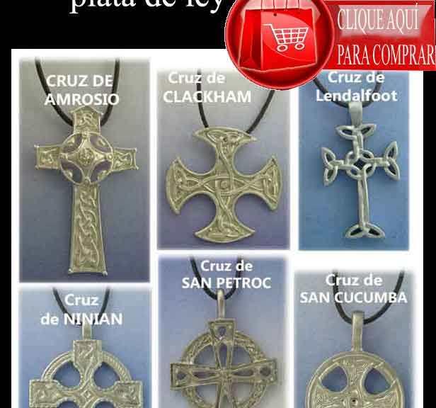 colgantes celtas cruces celtas