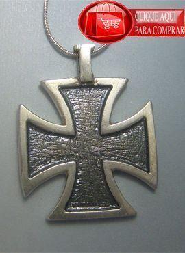 cruz templaria de plata