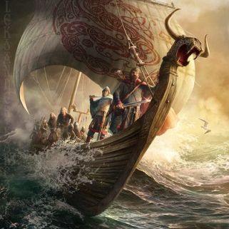 drakkar barco vikingo