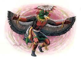 katchina alada vista por los hopi