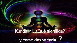 kundalini. Significado y despertar