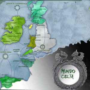 Mapa tierra celta