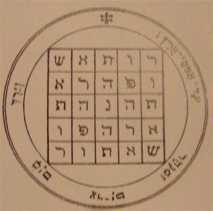 talismanes de Saturno, pantáculos y sellos de Salomón