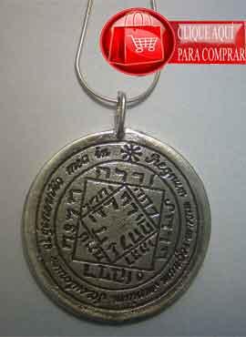 talismán del sol 3º pantáculo en plata