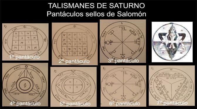 talismanes de Saturno