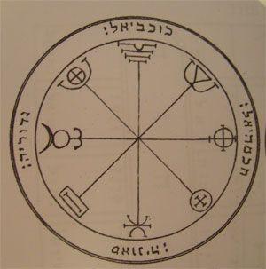 talismanes de Mercurio, 3º pantáculo Salomón