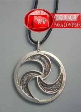 trisquel gallego de Lámbrica en plata de ley
