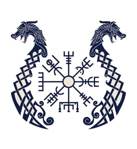 vegvísir símbolo significado