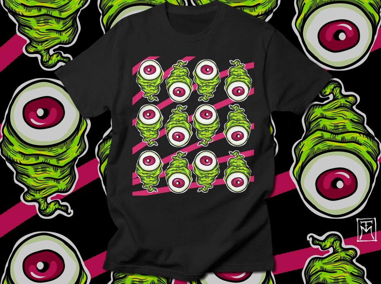 Eyeballz T-Shirt Design
