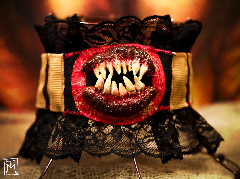 Teeth Horror Choker