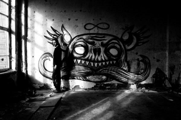 Infinity - Short Film Urbex Mural Scene