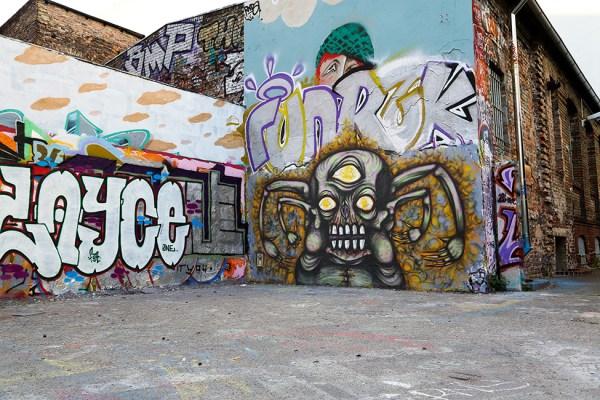Demon Graffiti Character