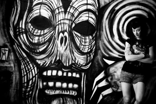 Solitary Creature - Berlin Dark Art Graffiti