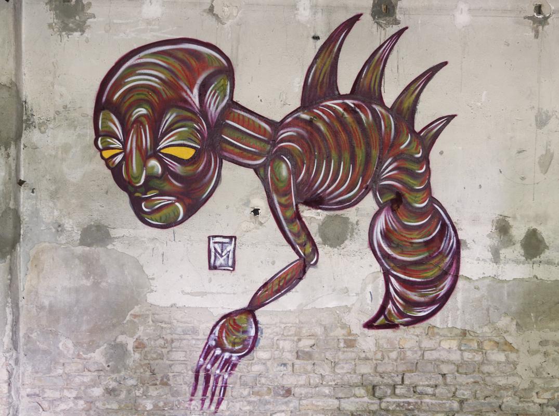 Wasp Graffiti Character by TM