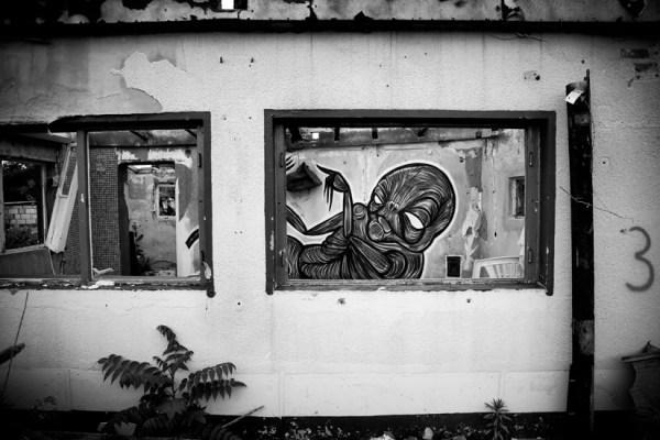 Voodoo urban painting