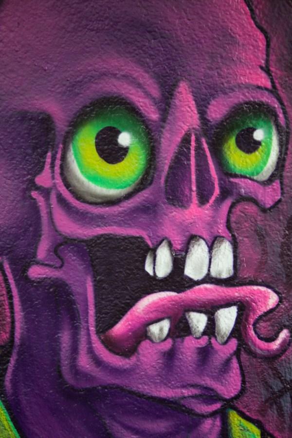 Skullotor Grafiiti Character