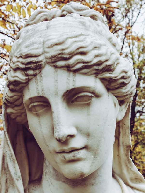 Weathered Beauty at Grunewald Cemetery