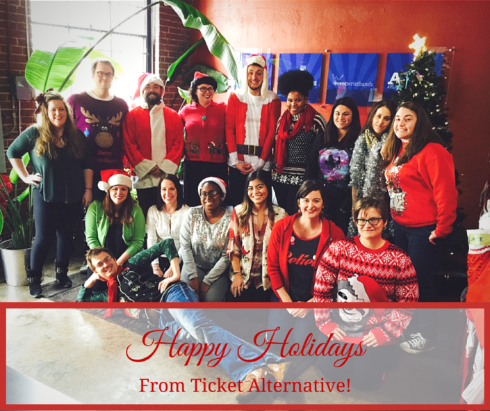 Happy Holidays from Ticket Alternative