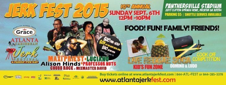 10th Annual Grace Atlanta Jerk Fest