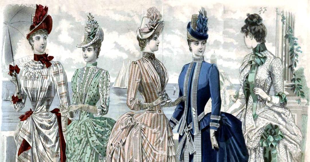 e cafe secrets de mode au 19eme siecle