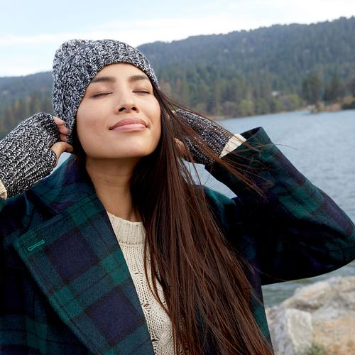 FabFitFun Winter 2019 Box Spoilers + Promo Code | Rebecca Minkoff Marled Beanie & Armwarmer Set