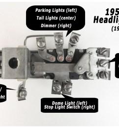 1953 headlightswitchdiagramlg jpg [ 3272 x 1984 Pixel ]