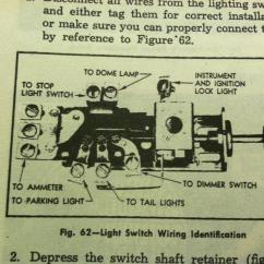 Headlight Dimmer Switch Wiring Diagram Dna Translation Headlamp Terminal No Power Classic Parts