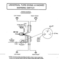 72 Chevy Truck Wiring Diagram 4 Prong Trailer Factory Turn Signal | Classic Parts Talk
