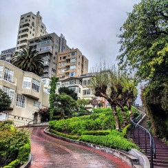 Saturday, March 14, 2020 – Lombard St. in San Francisco, CA. Michael Mugmon