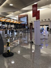"Thursday, March 19, 2020 – ""No one, just no one"" at the airport in Atlanta, GA. Sue Ann Atkerson"
