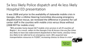 How do we know mobile crisis outreach teams work?