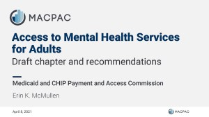 MACPAC Recommendations 2021