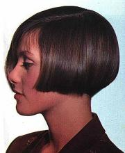 lip length angled bob hairstyles