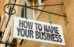 Naming a business