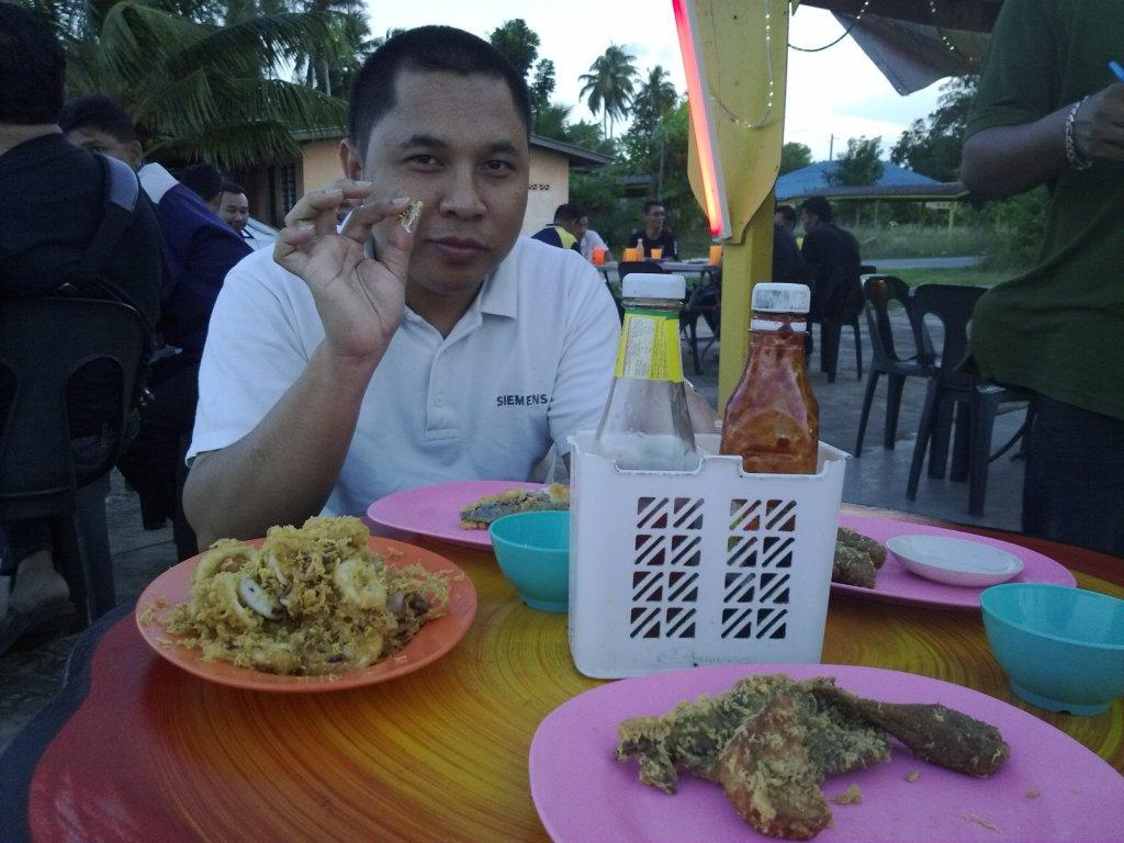 Bambang with food byk tak sampai lagi..