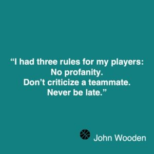 John Wooden quote 3 about coaching