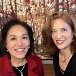 Networking expert Sharon Mah-Gin & Andrea Wojnicki