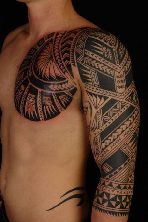 Maori braço