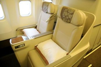 Shanghai Airlines Boeing 767 Business Class