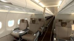 China Eastern Airbus A320 Business Class