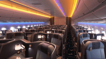 Premium Business Class on China Airlines Airbus A350-900XWB