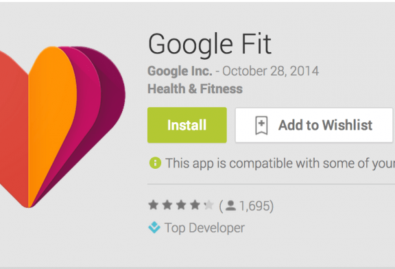 Google Fit makes its way to the Play Store