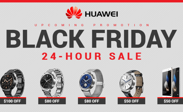 Save $50-100 off the Huawei Watch on Black Friday and Cyber Monday