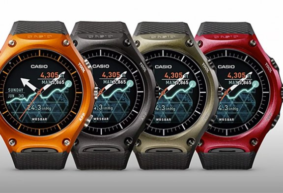 Casio Plans to Release an Android Wear Watch with One Month Battery Life