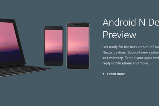 Update: Android N Preview Available for Download for Nexus Devices and Pixel C